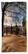 Canada Gate Green Park London Beach Towel