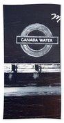 Canada Water Music Beach Towel