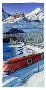 Canadian At Morant's Curve Beach Towel