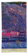 Canadian Pacific Reds Beach Towel