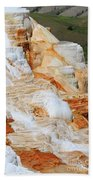 Canary Spring Mammoth Hot Springs Upper Terraces Beach Towel