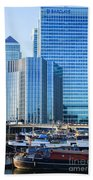 Canary Wharf 10 Beach Towel
