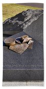 Canberra Veterans Statue Beach Towel