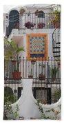 Cancun City Scenes Beach Towel