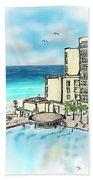Cancun Royal Sands Beach Towel
