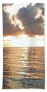 Cancun Sunrise Beach Towel
