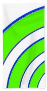 Candid Color 13 Beach Towel