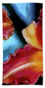 Candied Daylilies 1230 Dp_2 Beach Towel