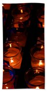 Candles For Mother Maria Beach Towel