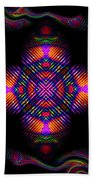 Candy Art Beach Towel