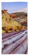 Candy Cane Desert Beach Sheet