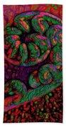 Candy Cane - Hawaiian Style Beach Towel