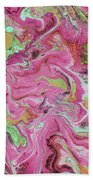 Candy Coated- Abstract Art By Linda Woods Beach Towel