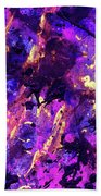 Candy Colours Abstract Beach Towel