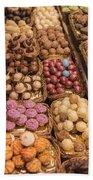 Candy Delights - La Bouqueria - Barcelona Spain Beach Towel