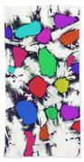 Candy Scatter Beach Towel