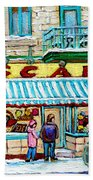 Candy Shop Beach Sheet