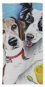 Canine Friends Beach Towel