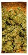 Cannabis Bowl Beach Towel