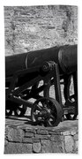 Cannon At Macroom Castle Ireland Beach Towel
