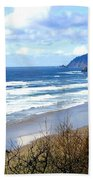 Cannon Beach Vista Beach Towel