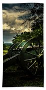 Cannon Encampment Valley Forge Beach Towel