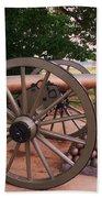 Cannon Gettysburg Beach Towel