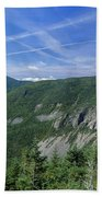 Cannon Mountain - White Mountains New Hampshire Usa Beach Towel by Erin Paul Donovan
