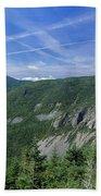 Cannon Mountain - White Mountains New Hampshire Usa Beach Sheet