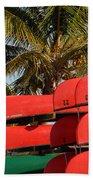 Canoe's At Flamingo Beach Sheet