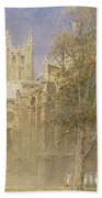 Canterbury Cathedral Beach Towel