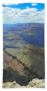 Canyon And Sky  Beach Towel