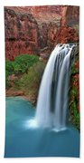 Canyon Falls Vertical Beach Towel