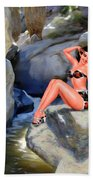 Canyon Girl Beach Towel