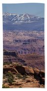 Canyons Of Dead Horse State Park Beach Towel