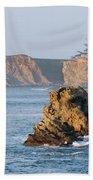 Cape Arago Lighthouse Beach Towel