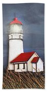 Cape Blanco Glow Beach Towel