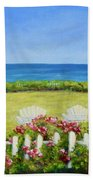 Cape Cod Cottage Beach Towel