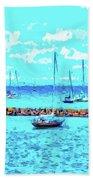 Cape Cod - Sailing Mecca Beach Towel