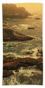 Cape Flattery Misty Morning - Washington Beach Towel