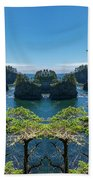Cape Flattery Reflection Beach Towel