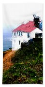 Cape Foulweather Beach Towel