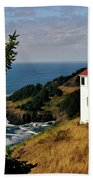 Cape Foulweather Point Beach Towel