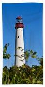 Cape May Lighthouse Beach Towel