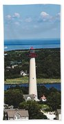 Cape May Point Lighthouse Beach Towel