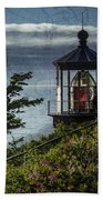 Cape Meares Lighthouse Beach Towel