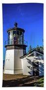 Cape Meares Lighthouse Beach Towel