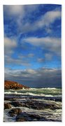 Cape Neddick Lighthouse Beach Towel