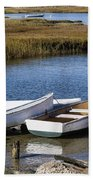 Cape Rowboats Beach Towel