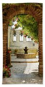 Capistrano Gate Beach Towel